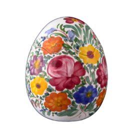 """Uovo decorativo """"Fioraccio""""  cm13"""