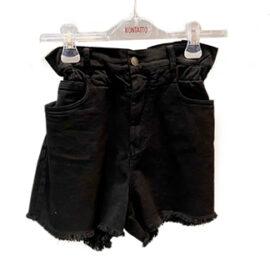 Short jeans bianco e nero Kontatto