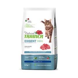 Trainer natural cat exigent manzo 1,5 kg